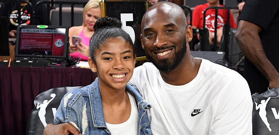 pictures of kobe bryant and his family together