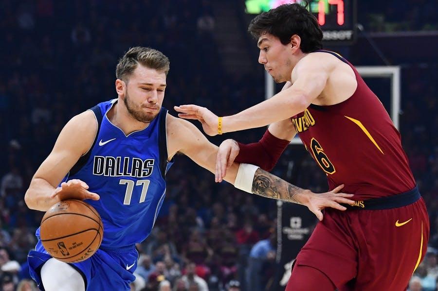 بسکتبال-کلیولند کاوالیرز-دالاس موریکس-NBA Basketball