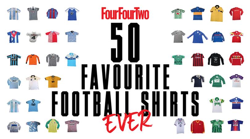 50 کیت برتر تاریخ فوتبال - fourfourtwo
