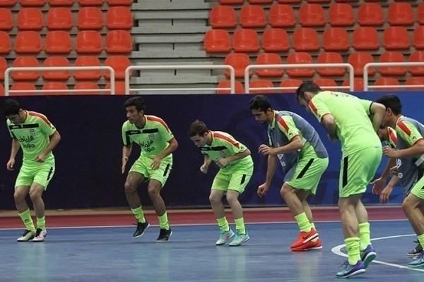 فوتسال-تیم ملی فوتسال ایران-Iran national futsal team