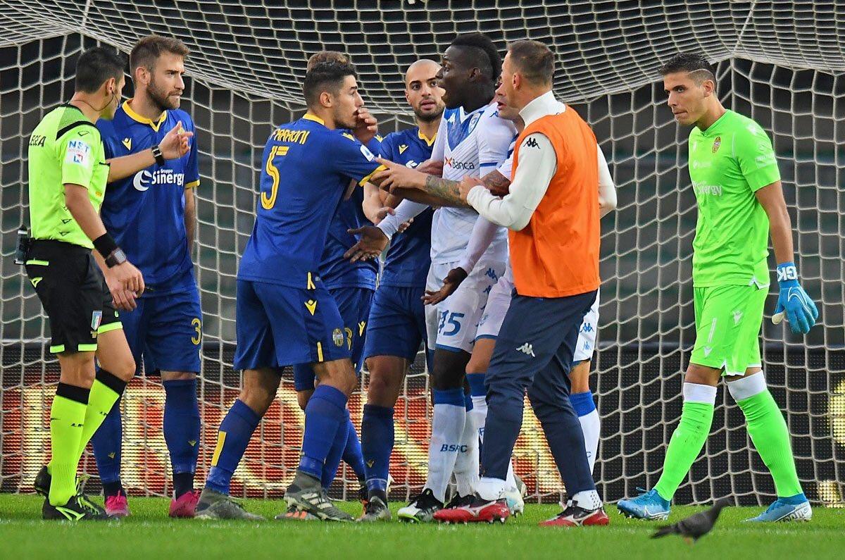 هلاس ورونا-برشا-ایتالیا-سری آ-توهین نژادپرستانه-نژادپرستی در فوتبال