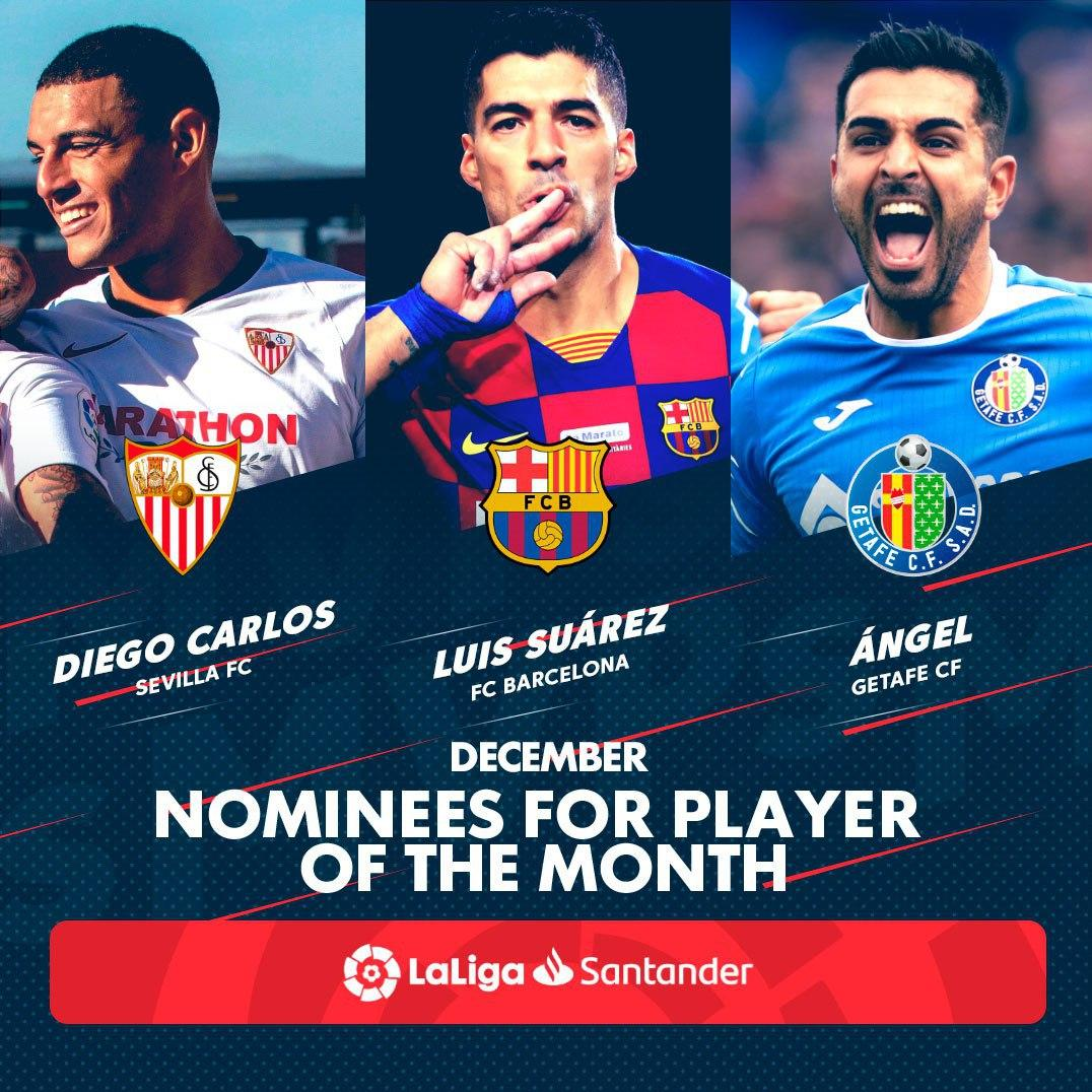 Player of the Month-Spain-بهترین بازیکن ماه-اسپانیا