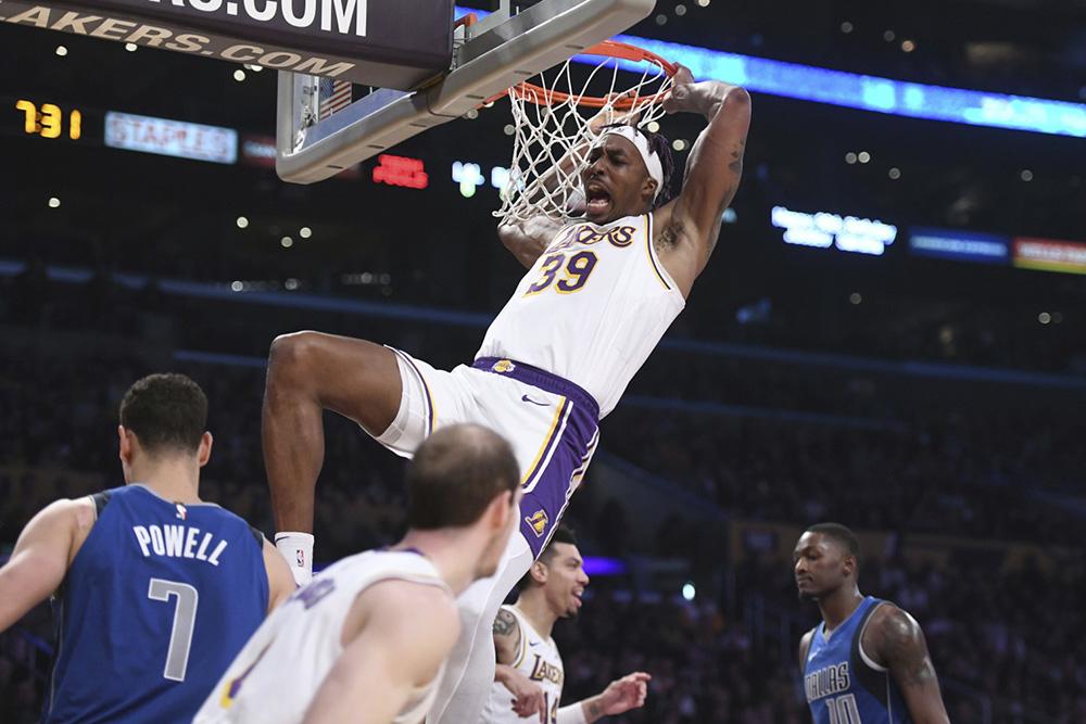 اخبار بسکتبال NBA - نتایج مسابقات NBA - هایلایت بازی های NBA - کنفرانس غرب NBA - لس آنجلس لیکرز - دوایت هاوارد