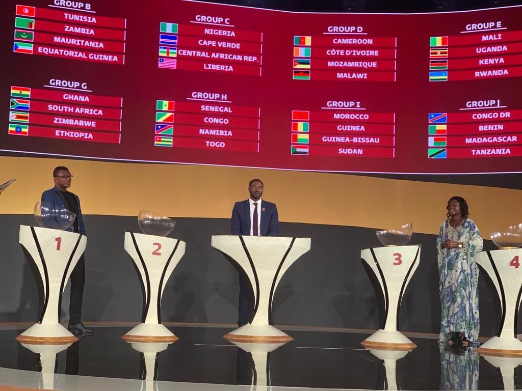 Africa. قرعه کشی مرحله مقدماتی جام جهانی 2022 قطر