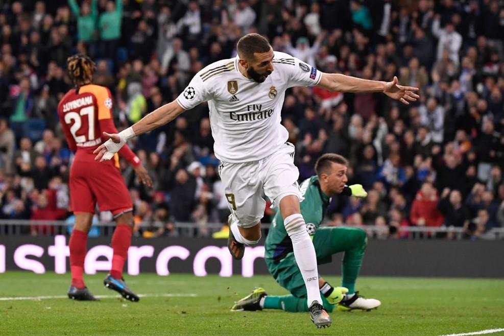 رئال مادرید - لیگ قهرمانان اروپا - گلزنی مقابل گالاتاسارای