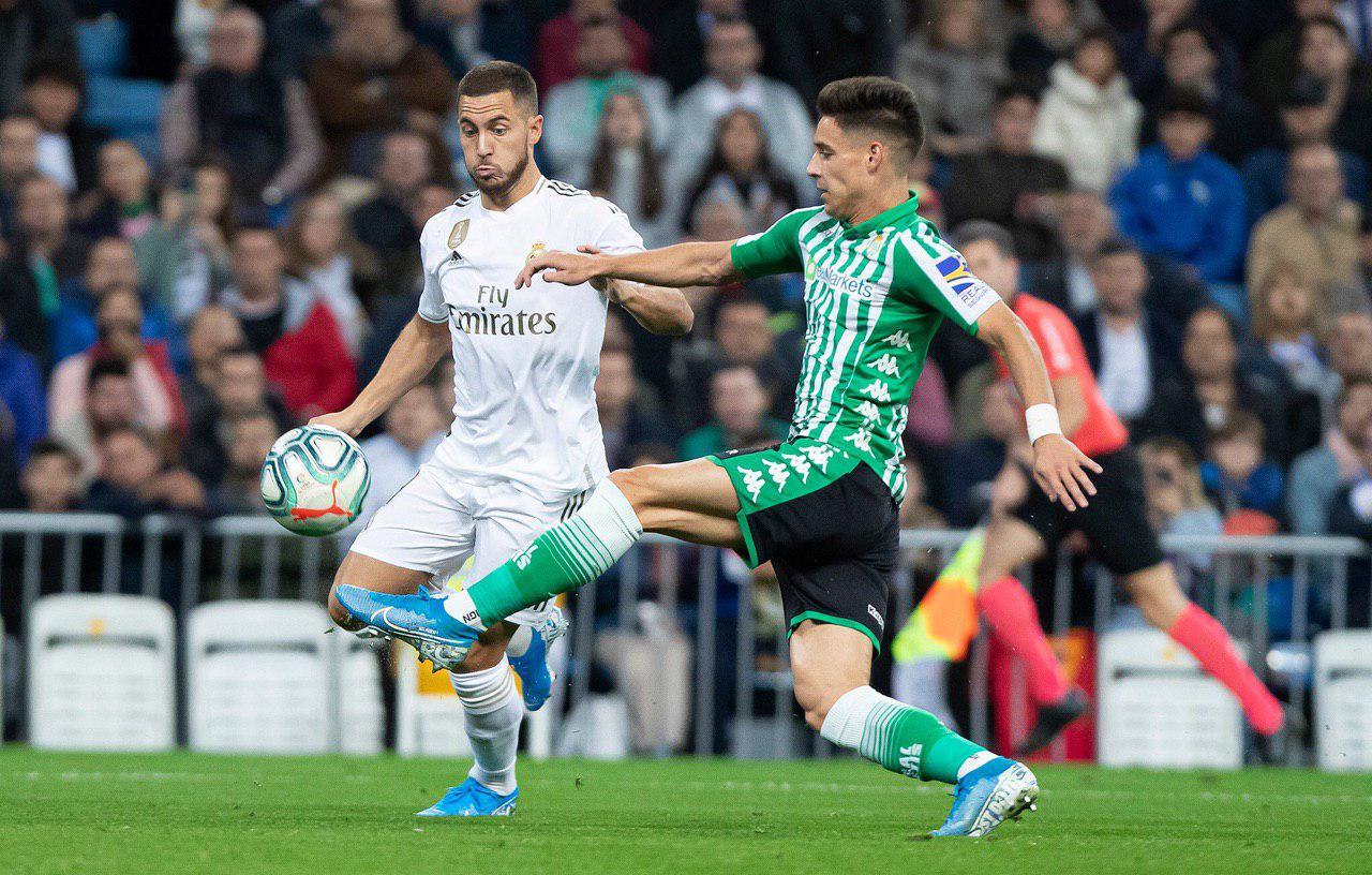 ادن هازارد-رئال مادرید-رئال بتیس-لالیگا-Eden Hazard-Real Betis-Real Madrid-Laliga